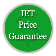 IET Price Match Guarantee!